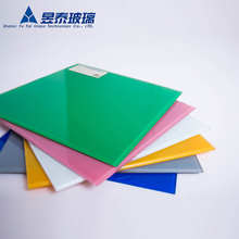 decoration glass Colored Float Glass Sheets Cheap Large Glass Sheets