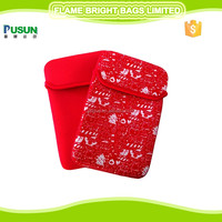Popular neoprene cute Christmas tablet sleeve