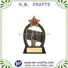 Beautiful superstar basketball award trophy