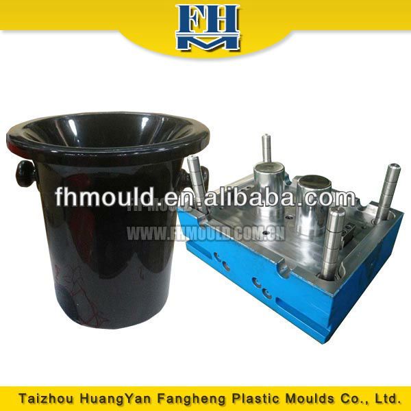 Taizhou OEM Useful Cheap Ice Bucket Plastic Injection Mould