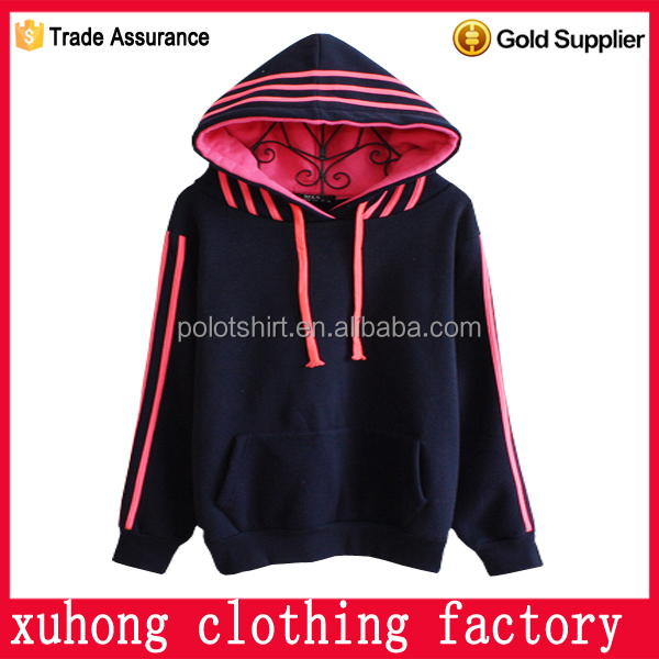 Printing stripe pocket animal cotton hoodies hoody with ears