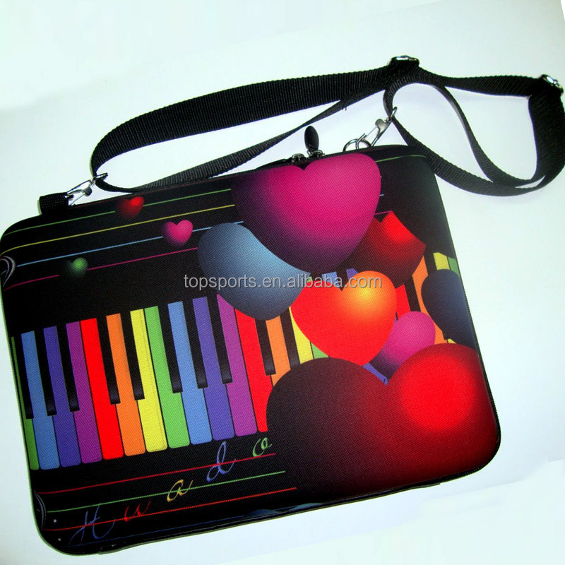 Fashion neoprene Laptop sleeve/ Bags for iPad and Laptop,customized logo accepted
