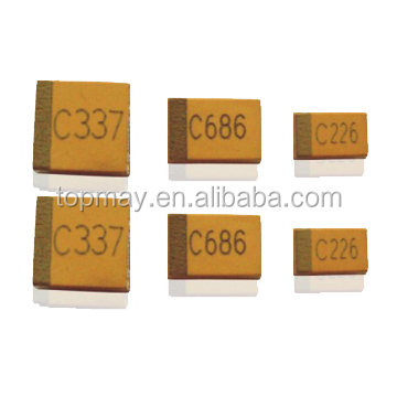CA45L Series Epoxy Molded Solid Electrolytic Chip Tantalum Capacitor