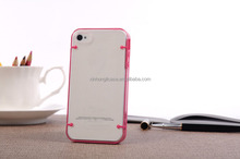 Luminous Hard Case For iPhone 4 4s, Transparent Glow In The Dark case phone accessories, china new product