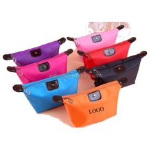 polyester knitted fabric Colorful Cosmetic Makeup Bag