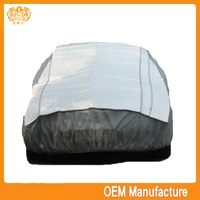 Aluminum film + EPE & non-woven hail protection car cove at factory price