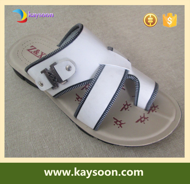 Men pu sandals and slippers arabic slippers personalized hotel slippers