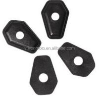 High Quality 4 pcs Plastic material adapters idicators 34X48mm Motorcycle indicator spare parts indicator spacer