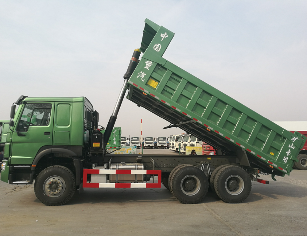 Sino truk 6x4 front tipping dump truck 25 to 30 ton 371PH heavy-duty dump trucks for sale