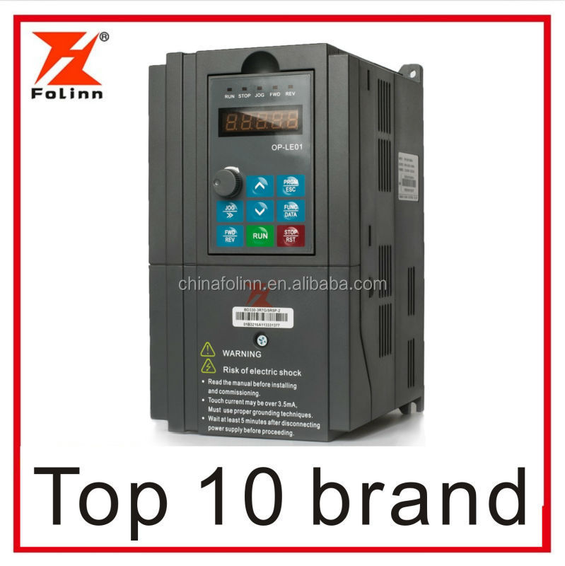 5.5kw 7.5kw 11kw 380v vector frequency inverter, large torque ac drive, high-performance VFD, China factory