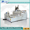 Hot sale good quality 2513 multi heads cnc router/ woodworking 8 spindles wood carving machine