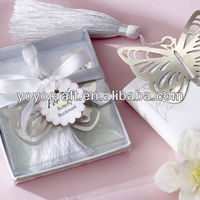 New Arrival Silver Metal Bookmark Wedding