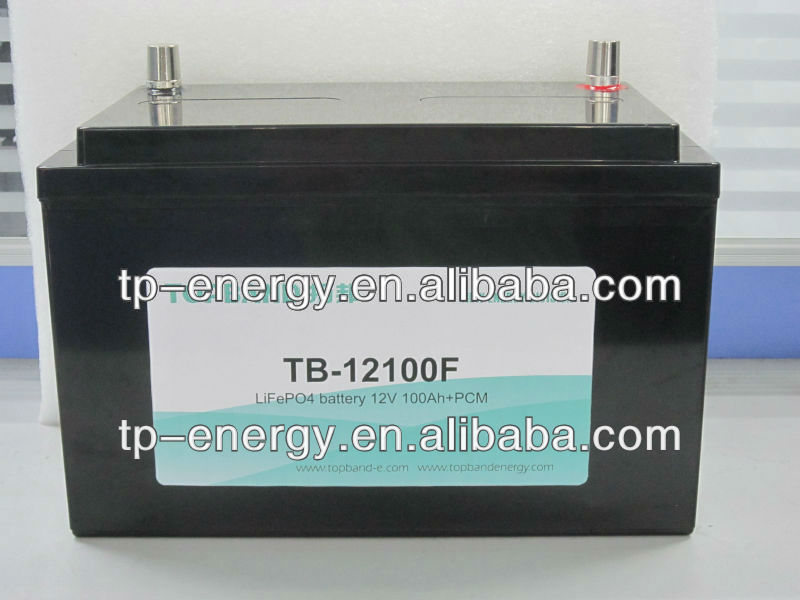 12V 125Ah solar and energy storage lifepo4 rechargeable battery pack