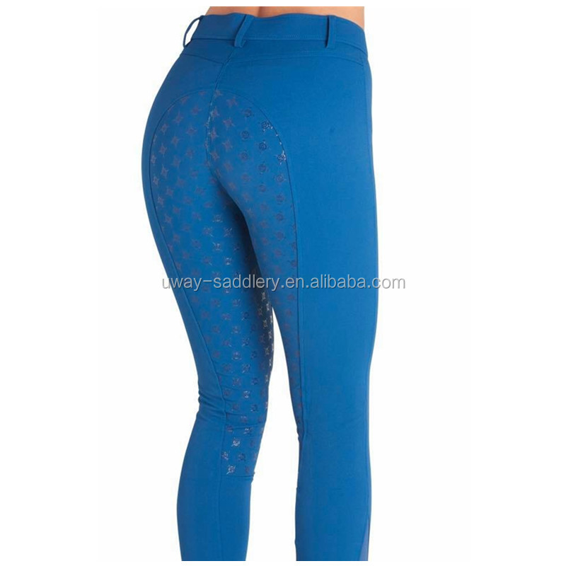 Professional equestrian horse riding silicone breeches jodhpurs
