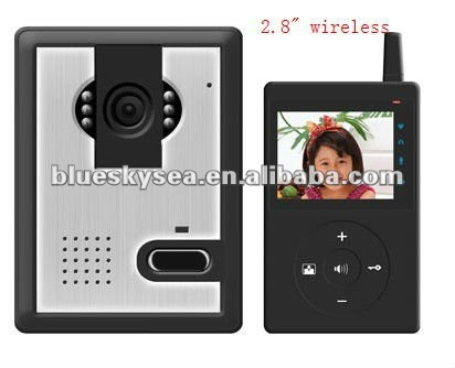 2016 China supplier Digital Wireless Video Door Phone made in china