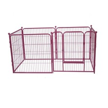 High quality chain link wire mesh dog kennel fence panel / dog cage / dog fence netting