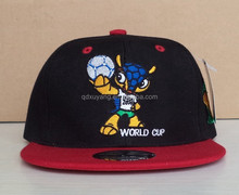 world cup logo embroidery snapback cap and hat football fans cap