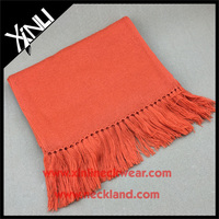 High Quality Classic Solid Color Knit Winter Wool Scarf Men's Fashions