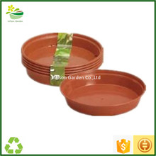 Cheap plastic plant trays flower pots saucers wholesale for plants