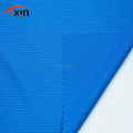 Hot sale striped polyester eyelet fabric for athletic wear, Anti-static weft jersey fabric
