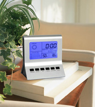 Sunny Mutifunction Desk Digital Calendar clock