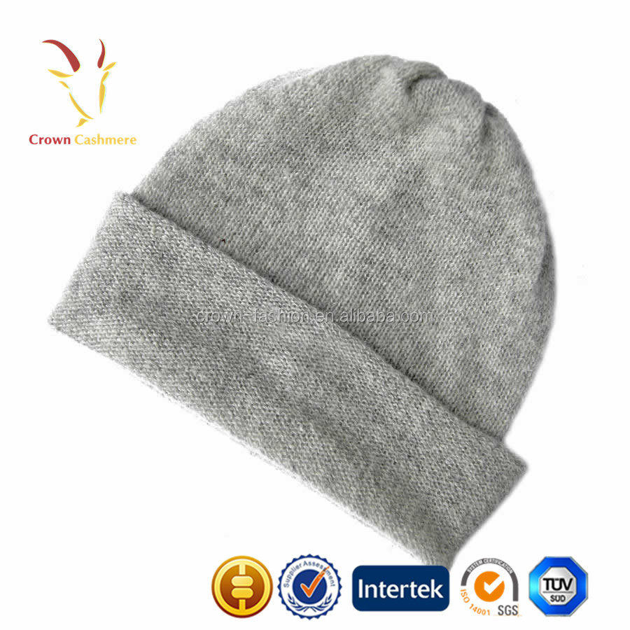 Customized Winter Cashmere Wool Beanie Hat