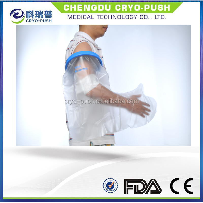 Adult arm waterproof cover for plaster cast