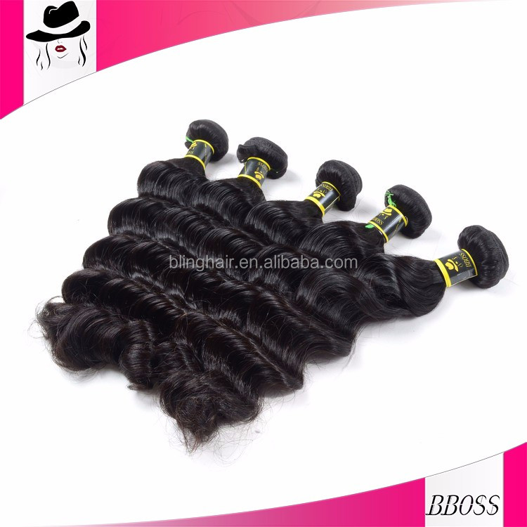 New arrival cheap brown/blonde mixed human hair extensions