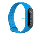 Trending hot OLED heart rate smart bracelet with read message swappable screen fit band for sport gym