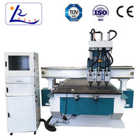 Cheap China cnc router machine /multipurpose woodworking machine