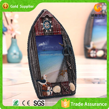 Boat Shape Picture Frame For Home Decorations Classical Gift Set
