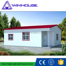 China easy assembly cheap sandwich panel modern prefabricated houses popular in philippines