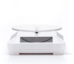 ABS material display stand rotating table 360 degree rotation for ring