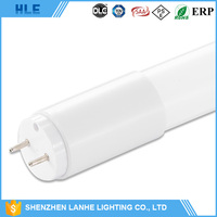 cheap wholesale SMD2835 0.6m t8 led tube lamp milky clear cover led tube t8 600mm
