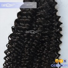 Holly wholesale quality brazilian hair, top grade clip hair extension, top quality afro kinky human hair