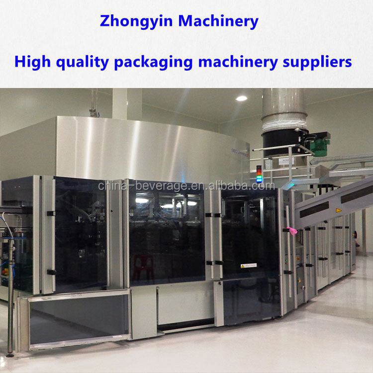 Aseptic cold filling ultra clean carbonated soft drink filling machine/soda water bottling equipment filling system drin