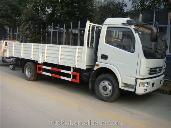 5 tons Dongfeng Euro3 diesel 120hp 4x2 camion
