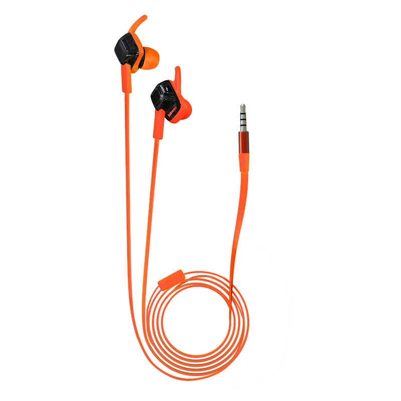 Jabees 1.2m Long Wire High Fidelity Stereo Sound MP3 Wired Stereo Waterproof Headphone Free <strong>Sample</strong>