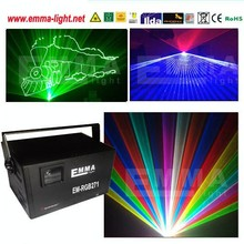 5W rgb full color stage laser dmx lights,animation xmas lighting /nightclub equipment/ishow laser software in SD card