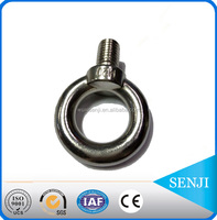 high tensile stainless steel eye bolt DIN444 , standard parts supplier , nut bolt manufacturing machinery price