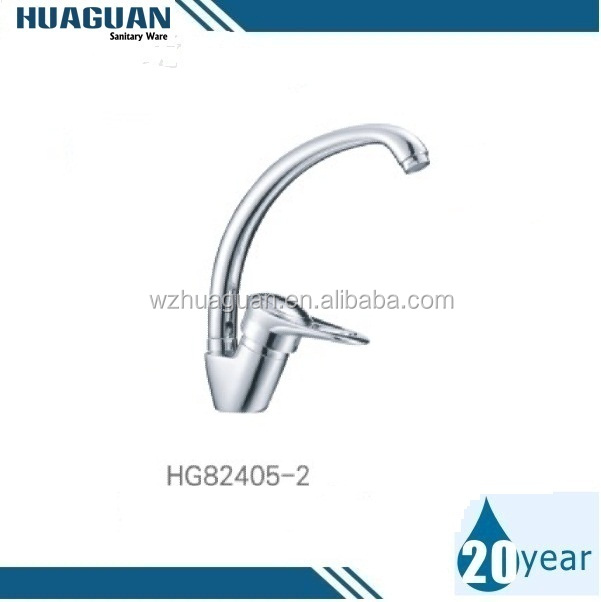 Single Handle Brass Kitchen Tap with Casting Spout