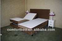 2015 New Model electric adjustable bed with massage funcion