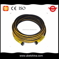 Good price DN 8 SAE 100 R1AT high pressure steam washer wire braided rubber hose