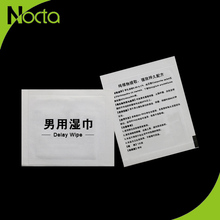 China Suppliers Herbal Sex Product Sex Delay Wet Wipes For Man