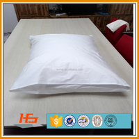 200TC Cotton Plain White Pillow Case For Custom Printing