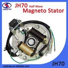 JH70 half wave Magneto Stator motorcycle Spare Parts made in China