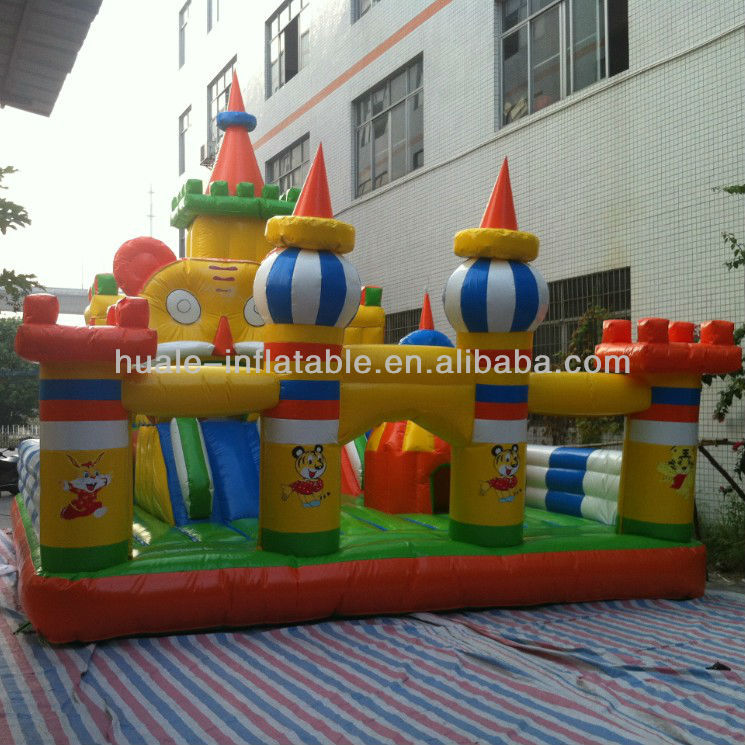 Hot Sale Inflatable Amusement Park Fun Island Inflatable Fun City