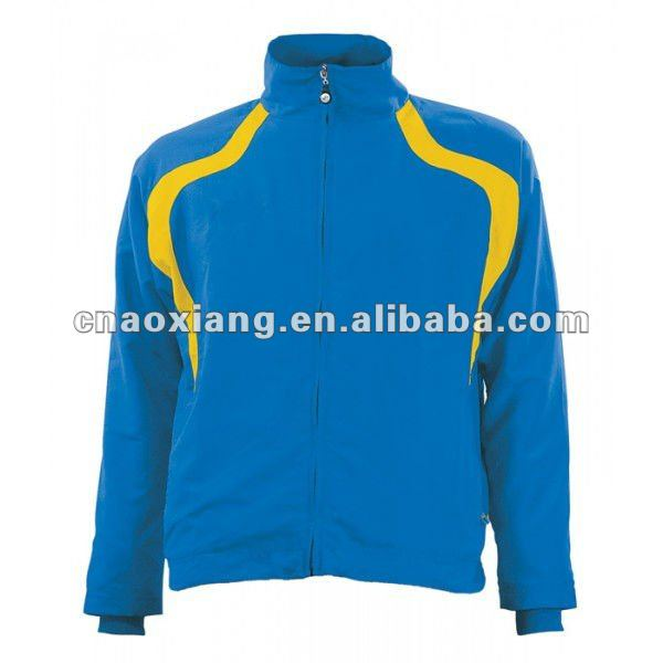 blue softshell custom warmup suits