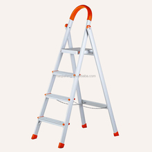 HJF GW-330 Eco-friendly aluminium house use ladder, compact folding 4 step ladder, design ladders