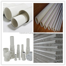 Non-toxic PVC Tube PVC Plastic Water Pipes